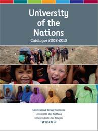 Novo catalogo da Universidade das Nações